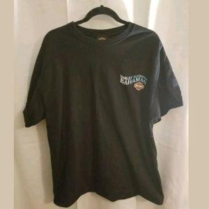 Harley Davidson Bahamas Black T-Shirt Size XL